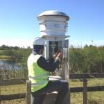 Monitoramento da qualidade do ar através de um medidor de material particulado (PM10)